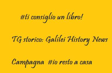Progetti: ti consiglio un libro-Tg storico-#iorestoacasa