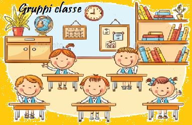 Gruppi classe scuola Secondaria a.s. 2020/2021